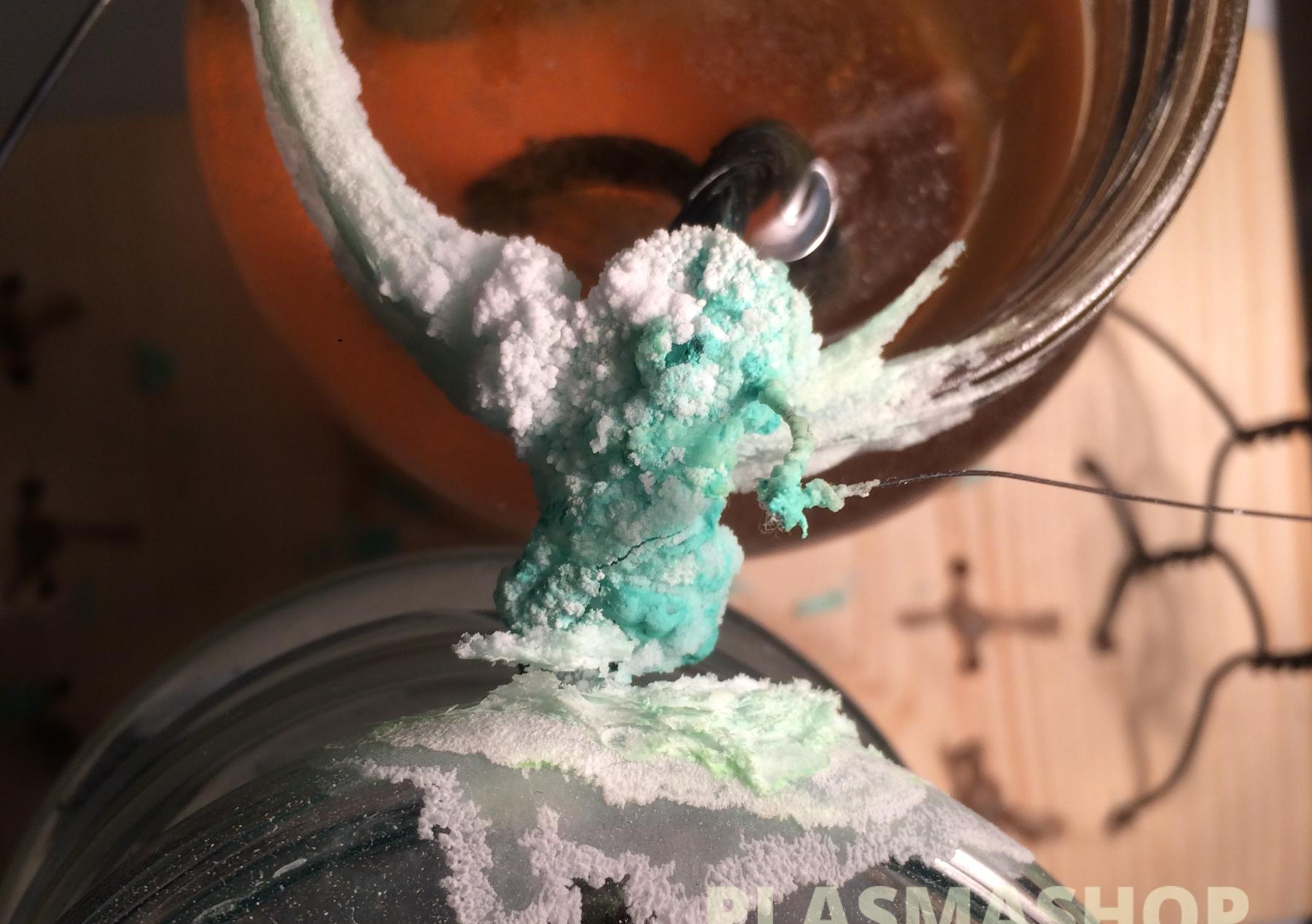 salt crystals structure